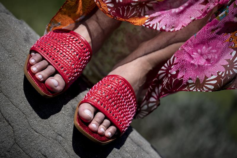 L'intreccio ispira la moda e ci riveste da capo a piedi !